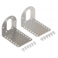 Aluminum L-Bracket Pair for 37D mm Metal Gearmotors