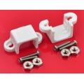 Pololu Micro Metal Gearmotor Bracket Pair - White