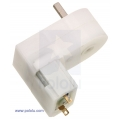 120:1 Mini Plastic Gearmotor Offset 3mm D-Shaft Output