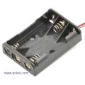 3-AAA Battery Holder