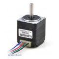 Stepper Motor: Bipolar, 200 Steps/Rev, 28x32mm, 3.8V, 670mA