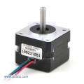 Stepper Motor: Bipolar, 200 Steps/Rev, 35x26mm, 7.4V, 280mA