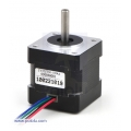 Stepper Motor: Bipolar; 200 Steps/Rev; 35x36mm; 2.7V; 1000mA