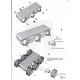 Dagu Wild Thumper 4WD All-Terrain Chassis; Black; 75:1