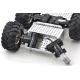 Dagu Wild Thumper 4WD All-Terrain Chassis; Silver; 34:1