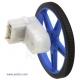 180:1 Mini Plastic Gearmotor Offset 3mm D-Shaft Output