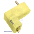 180:1 Mini Plastic Gearmotor Offset 3mm D-Shaft Output