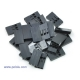 Crimp Connector Housing: 1x3-Pin 25-Pack