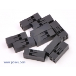 Crimp Connector Housing: 2x2-Pin 10-Pack