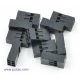 Crimp Connector Housing: 2x3-Pin 10-Pack