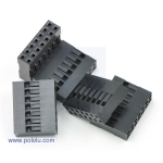 Crimp Connector Housing: 2x7-Pin 5-Pack