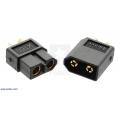 XT60 Connector Male-Female Pair; Black