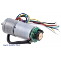 75:1 Metal Gearmotor 25Dx54L mm with 48 CPR Encoder