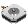 Stepper Motor: Bipolar, 200 Steps/Rev, 42×11.6mm, 3.5V, 1 A/Phase