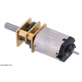 30:1 Micro Metal Gearmotor HPCB 6V with Extended Motor Shaft