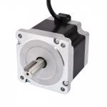 Keyway Dual Shaft Nema 34 CNC Stepper Motor 4.5Nm (637oz.in) 5.5A 86x86x80mm