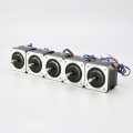 5PCS Nema 17 Bipolar 1.8deg 26Ncm (36.8oz.in) 0.4A 12V 42x42x34mm 4 Wires