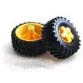 Tamiya 70101 Truck Tire Set (4 tires)