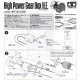 Tamiya 72003 High-Power Gearbox Kit