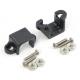 Micro Metal Gearmotor Bracket Pair - Black