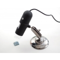 USB Microscope - 5.0 Megapixel / 220x magnification / 8 LEDs