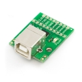 Breakout Board for CP2103 USB to Serial w/ GPIOs