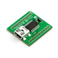 Breakout Board for FT245RL USB to FIFO