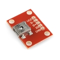 Breakout Board for USB Mini-B
