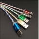3FT GREEN-LED Light Micro USB 2.0