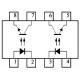 CNY74-2 DUAL OPTO-COUPLED TRANSISTOR