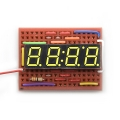 4Digit 7-Segment Display - Yellow