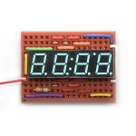 4Digit 7-Segment Display - Blue