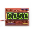 4Digit 7-Segment Display - Kelly Green