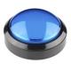 Big Dome Push Button - Blue