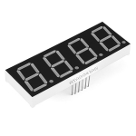 7Segment Display - 20mm Blue