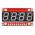 7Segment Serial Display - Kelly Green
