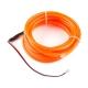 Bendable EL Wire - Orange 3m