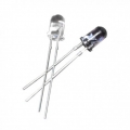 IR LED Pair 3mm Transmitter and Receiver