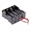 8 AA Battery Holder Back to Back