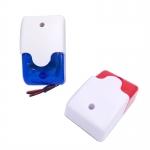 Mini strobe siren indicator light sound