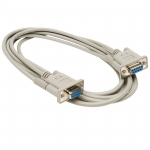 RS232 Serial Null Modem Cable F/F