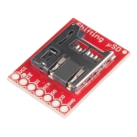 Level Shifting microSD Breakout