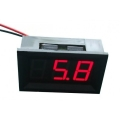 LED Voltage Meter Red
