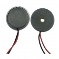 17mm Passive Piezo Buzzer with Lead Wire