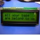 Basic 16x2 Character LCD - Black on Green 3.3V
