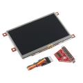 Raspberry Pi Display Module - 4.3&quot; Touchscreen LCD
