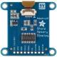 "SHARP Memory Display Breakout - Silver Monochrome 1.3"", 96x96"