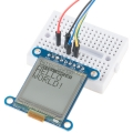 "SHARP Memory Display Breakout - Silver Monochrome 1.3"", 96x96"
