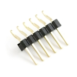 6 Pin Right Angle Male SMD Header