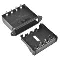 Battery Holder - 4xAA Drawer Panel Mount